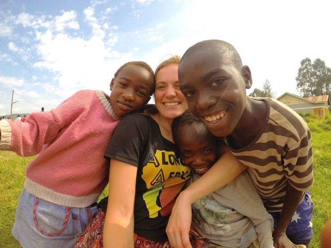 Volunteering with Alongside Africa